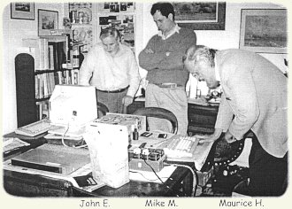 John Edwards, Mike Mallett, and Maurice Hawes