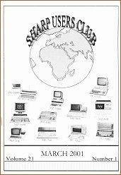 Cover of SUC Magazine Vol. 21/1 March 2001