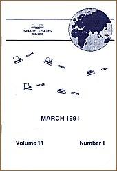 Cover of SUC Magazine Vol. 11/1 March 1991
