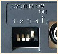 MZ-1500 system switches